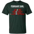 February girl funny T-shirts CustomCat