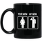 Female Veteran Coffee Mug Your Mom My Mom Veteran 11oz - 15oz Black Mug