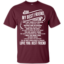 For My Best Friend In Heaven Funny T-shirt CustomCat
