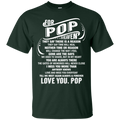 For My Pop In Heaven T-shirts CustomCat