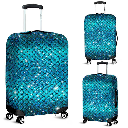 Glittery Mermaid Scale Luggage Covers My Soul & Spirit