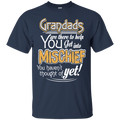 Grandads T-shirt For Father's Day CustomCat