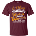 Grandpas Bring A Little More Wisdom Happiness Warmth and Love to Every Life They Touch Family t-shirt CustomCat