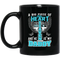 Guardian Angel Coffee Mug A Big Piece Of My Heart Lives In Heaven And He Is My Daddy 11oz - 15oz Black Mug