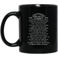 Guardian Angel Coffee Mug A Christmas Message From Heaven In Memory Of Our Loved Ones 11oz - 15oz Black Mug CustomCat