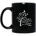 Guardian Angel Coffee Mug Alway Loved Never Forgotten Rest In Paradise Angel Mom 11oz - 15oz Black Mug CustomCat