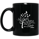 Guardian Angel Coffee Mug Alway Loved Never Forgotten Rest In Paradise Angel Mom 11oz - 15oz Black Mug