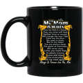 Guardian Angel Coffee Mug For My Mom In Heaven Always Forever Love You Best Friend 11oz - 15oz Black Mug CustomCat