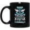 Guardian Angel Coffee Mug I Miss My Husband Everyday For The Rest Of My Life Angel Wings 11oz - 15oz Black Mug