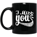 Guardian Angel Coffee Mug I Miss You Daughter 11oz - 15oz Black Mug CustomCat