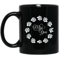 Guardian Angel Coffee Mug Miss You 11oz - 15oz Black Mug CustomCat