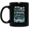 Guardian Angel Coffee Mug My Dad A Father's Touch A Daddy's Kiss A Grieving Daughter 11oz - 15oz Black Mug
