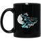 Guardian Angel Coffee Mug My Mom Was So Amazing God Made Him My Guardian Angel 11oz - 15oz Black Mug