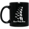 Guardian Angel Coffee Mug Never Walk Alone Dragonflies Angel 11oz - 15oz Black Mug