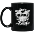 Guardian Angel Coffee Mug No Longer At My Side But Always In Hy Heart Grandpa 11oz - 15oz Black Mug CustomCat