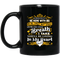 Guardian Angel Mug Although You Can't Be Here With Me You'll Be Living In My Heart Husband 11oz - 15oz Black Mug