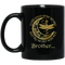 Guardian Angel Mug Brother Your Wings Were Ready But My Heart Was Not Dragonfly Angel 11oz - 15oz Black Mug