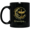Guardian Angel Mug Grandpa Your Wings Were Ready But My Heart Was Not Dragonfly Angel 11oz - 15oz Black Mug