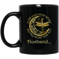 Guardian Angel Mug Husband Your Wings Were Ready But My Heart Was Not Dragonfly Angel 11oz - 15oz Black Mug CustomCat