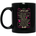 Guardian Angel Mug I Still Cry I Cried When You Passed Away But Forever In My Heart Dad 11oz - 15oz Black Mug CustomCat