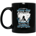 Guardian Angel Mug It's Been A Long Day Without You Finace And I'll Tell You See You Again 11oz - 15oz Black Mug CustomCat