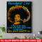 Hairstylist Canvas - African America Hairstylist Girl With 3 Sides You Never Want To See Canvas Wall Art Decor
