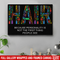 Hairstylist Canvas - Hair Because Personality Is Not The First Thing People See Canvas Wall Art Decor