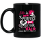 Hairstylist Coffee Mug Life Is Not Perfect But Your Hair Can Be 11oz - 15oz Black Mug