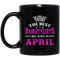 Hairstylist Coffee Mug The Best Hairstylists Are Born In April 11oz - 15oz Black Mug