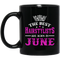 Hairstylist Coffee Mug The Best Hairstylists Are Born In June 11oz - 15oz Black Mug