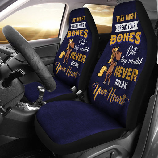 Hilarious Quotes Of Horse Car Seat Covers (Set Of 2) My Soul & Spirit