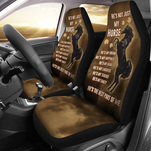 Horse Is All Of My World Car Seat Covers (Set Of 2) My Soul & Spirit
