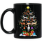Horse Shaped as Christmas Tree Printed Mug 11 Oz - 15 Oz CustomCat