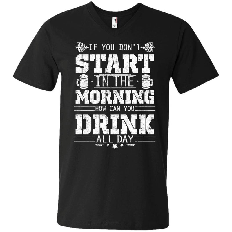 How Can You Drink All Day Tshirts CustomCat