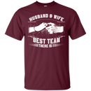 husband and wife best team there is t-shirts for valentine CustomCat