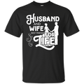 Husband and wife bestfriends for life T-shirts CustomCat