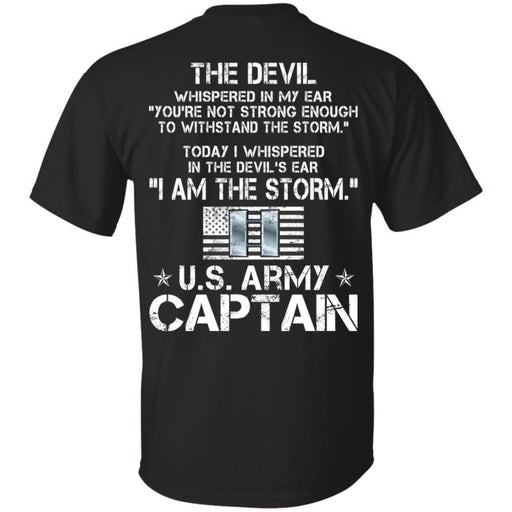 I Am The Storm - Army Captain CustomCat