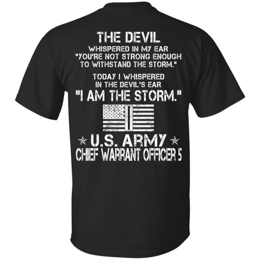 I Am The Storm - Army Chief Warrant Officer CustomCat