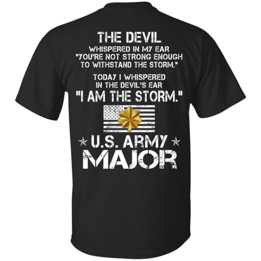 I Am The Storm - Army Major CustomCat