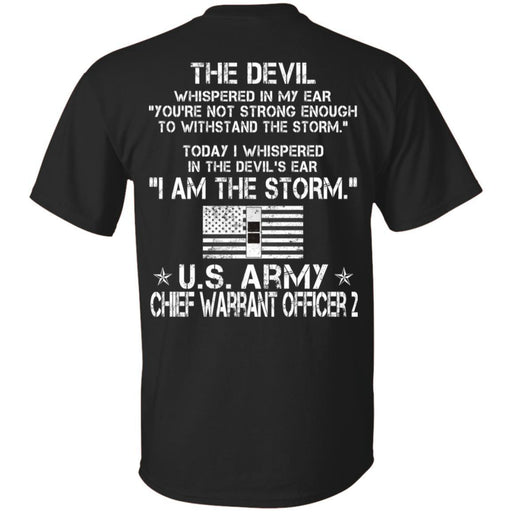 I Am The Storm - Army Warrant Officer CustomCat