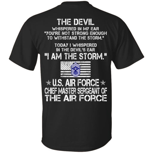 I Am The Storm - US Air Force Chief Master Sergeant Of The Air Force CustomCat