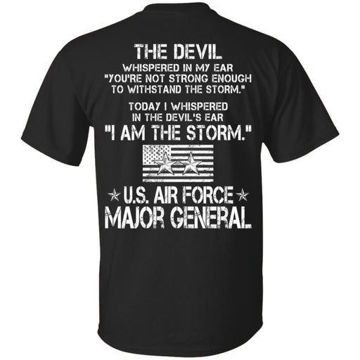 I Am The Storm - US Air Force Major General CustomCat
