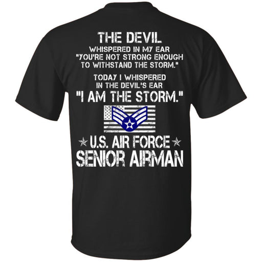 I Am The Storm - US Air Force Senior Airman CustomCat