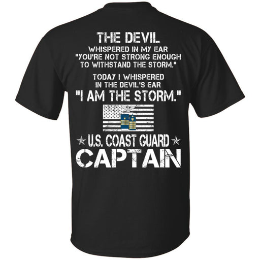I Am The Storm - US Coast Guard Captain CustomCat