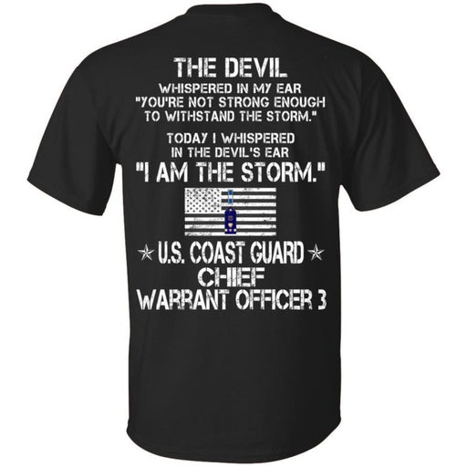 I Am The Storm - US Coast Guard Chief warrant officer CustomCat