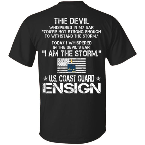 I Am The Storm - US Coast Guard Ensign CustomCat