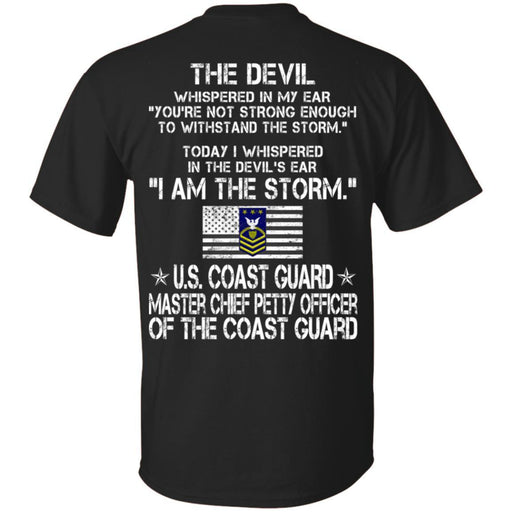 I Am The Storm - US Coast Guard Master Chief Petty Officer Of The Coast Guard CustomCat