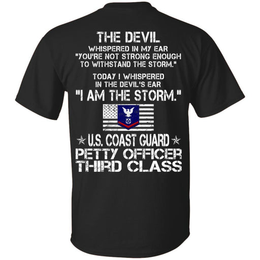 I Am The Storm - US Coast Guard Petty Officer Third Class CustomCat
