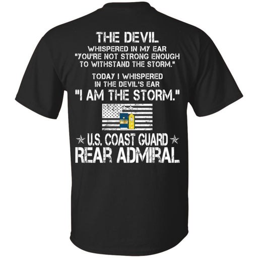 I Am The Storm - US Coast Guard Rear Admiral CustomCat