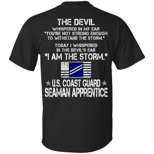 I Am The Storm - US Coast Guard Seaman Apprentice CustomCat